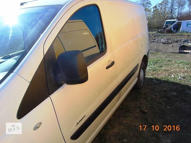 бу Б/у дверь передняя для минивена Citroen Jumpy Скудо Експерт Джампі Джампи (3) с 2007г. в Ровно