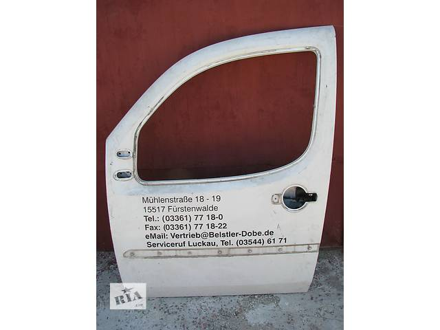бу Б/у дверь передняя л Fiat Doblo 2003 в Броварах