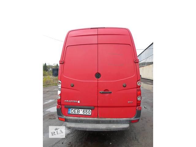 купить бу Б/у Дверь задняя для автобуса Volkswagen Crafter Фольксваген Крафтер 2.5 TDI 2006-2010 в Рожище