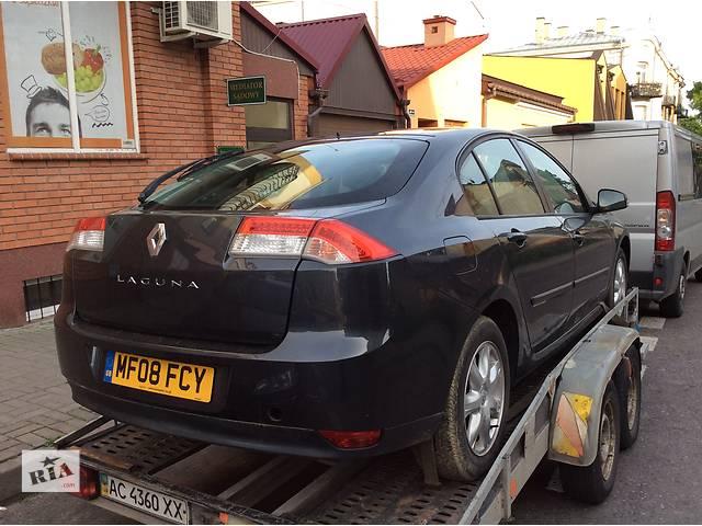 Б/у дверь задняя для хэтчбека Renault Laguna III- объявление о продаже  в Луцке