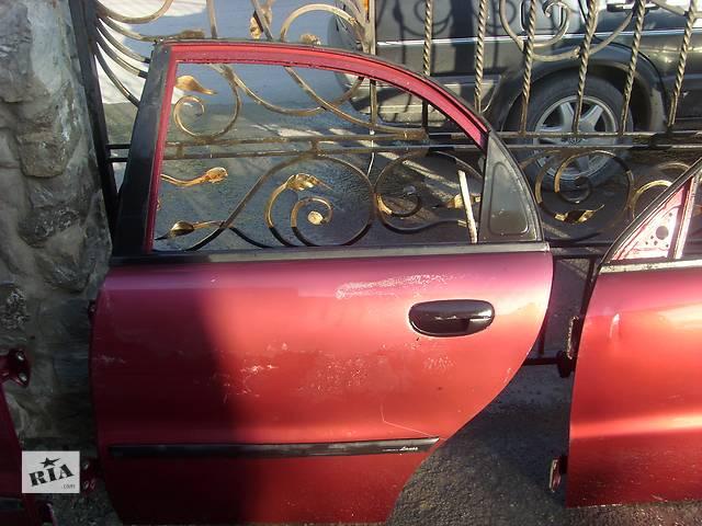 продам Б/у дверь задняя для легкового авто Daewoo Lanos бу в Борщеве (Тернопольской обл.)