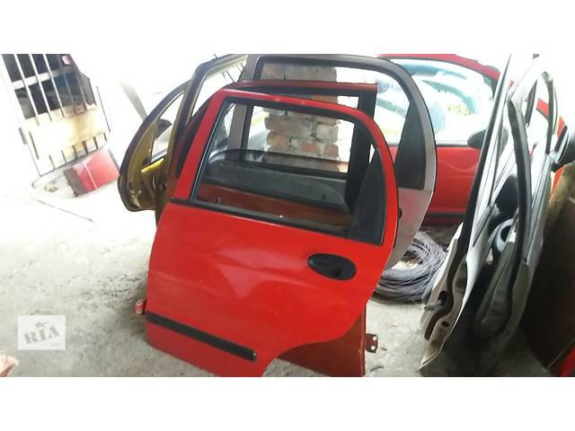 бу Б/у дверь задняя для легкового авто Daewoo Matiz в Львове