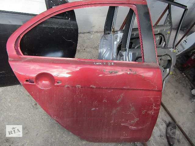 купить бу Б/у дверь задняя для легкового авто Mitsubishi Lancer X в Киеве