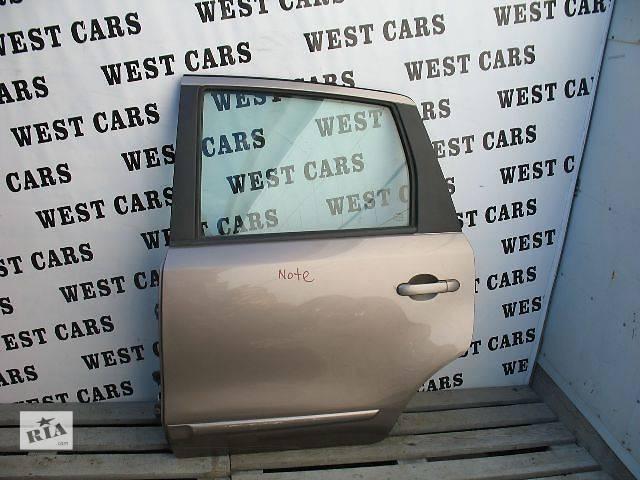 продам Б/у дверь задняя для легкового авто Nissan Note бу в Луцке
