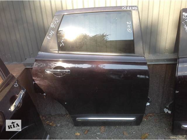 продам Б/у дверь задняя для легкового авто Nissan Qashqai+2 бу в Ровно
