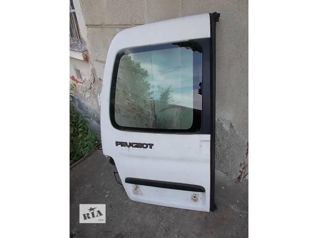 Б/у дверь задняя Peugeot Partner 1996-2002- объявление о продаже  в Стрые