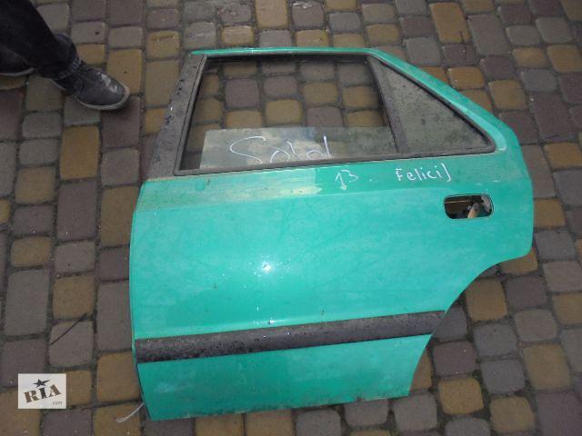 продам Б/у дверь задняя для легкового авто Skoda Felicia 2000 бу в Львове