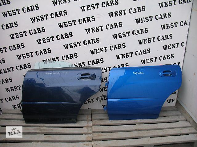 купить бу Б/у дверь задняя для легкового авто Subaru Impreza 2005 в Луцке
