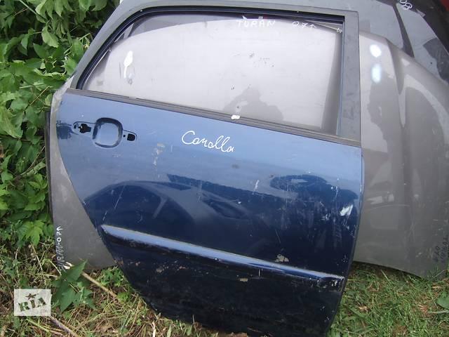 продам Б/у дверь задняя для легкового авто Toyota Corolla бу в Ровно