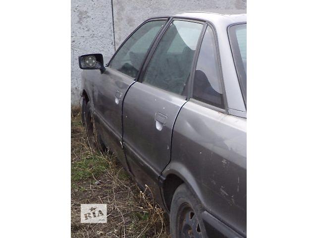купить бу Б/у дверь задняя для седана Audi 80 1990 в Киеве