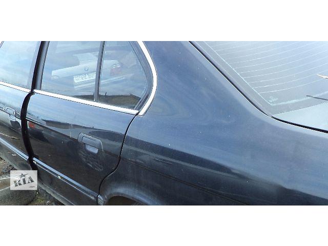 купить бу Б/у дверь задняя левая и правая для седана BMW 525 E34 1993г в Киеве