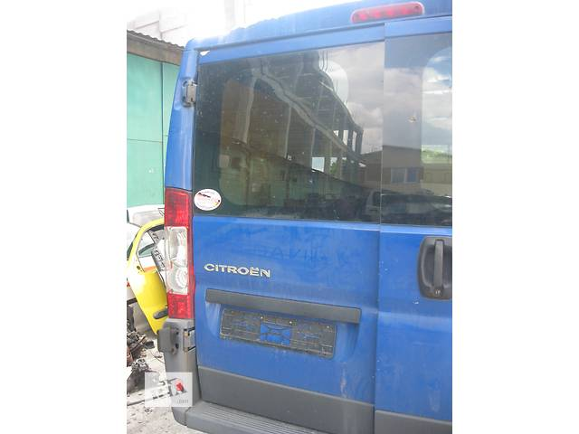 Б/у дверь задняя Peugeot Boxer 2006-- объявление о продаже  в Ровно