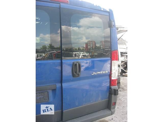 бу Б/у дверь задняя Peugeot Boxer 2006- в Ровно