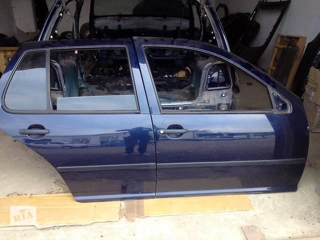 бу Б/у дверь задняя правая в зборе для хэтчбека Volkswagen Golf IV 2001 года в Хусте