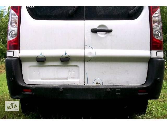 купить бу  Б/у дверь задняя роспашенка Пежо Эксперт Експерт Peugeot Expert с 2007- в Ровно