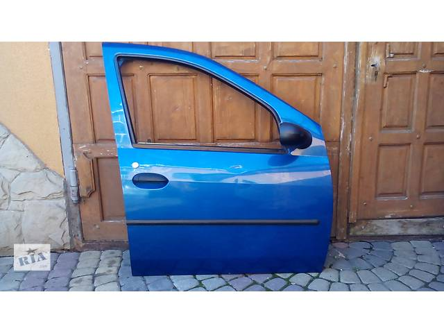 продам Б/у двері передні для легкового авто Рено Renault Логан Logan бу в Львове