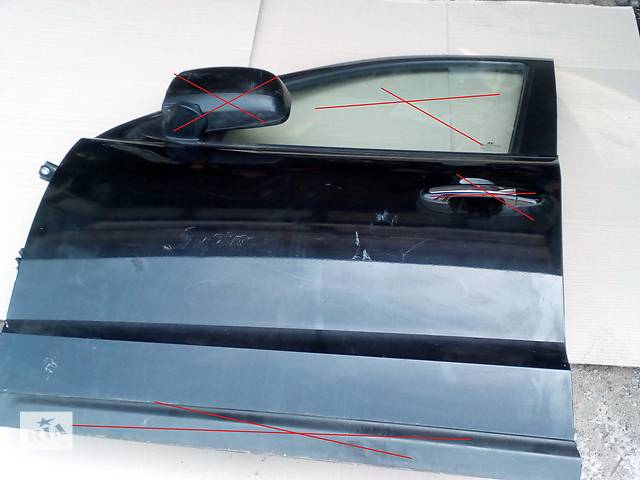 купить бу Б/у двері передні ліві 76003-2B020 для легкового авто Hyundai Santa FE (Хюндай Санта фе) в Ровно
