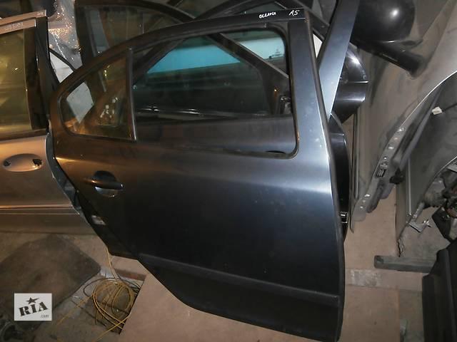 бу Б/у праві задні двері для легкового авто седана Skoda Octavia A5 в Львове