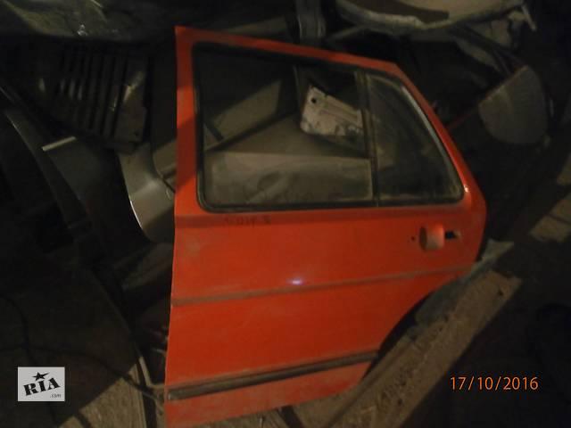 купить бу Б/у двері задні для седана Volkswagen Golf II в Львове