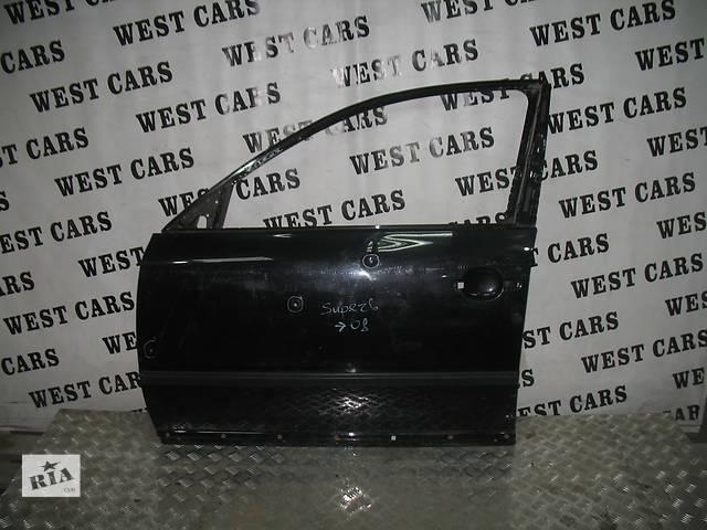 купить бу б/у Двери/багажник и компоненты Дверь передняя Легковой Skoda SuperB 2006 в Луцке