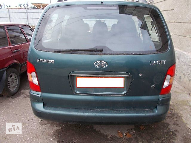 бу Б/у Двери/багажник и компоненты Крышка багажника Легковой Hyundai Trajet в Стрые
