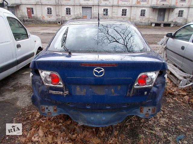 продам Б/у Крышка багажника Mazda 6 бу в Стрые