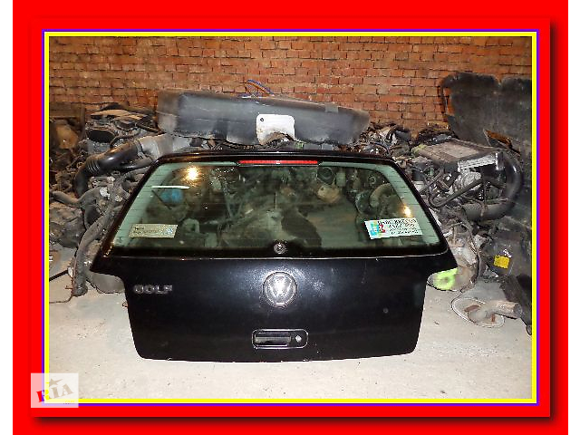 б/у Двери/багажник и компоненты Крышка багажника Легковой Volkswagen Golf IV- объявление о продаже  в Стрые