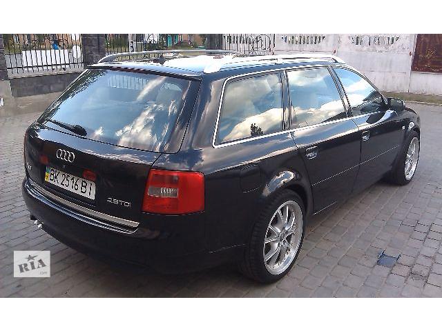 купить бу Б/у замок крышки багажника бленда крышка багажника для универсала седана Audi A6 97-О4г. в Костополе