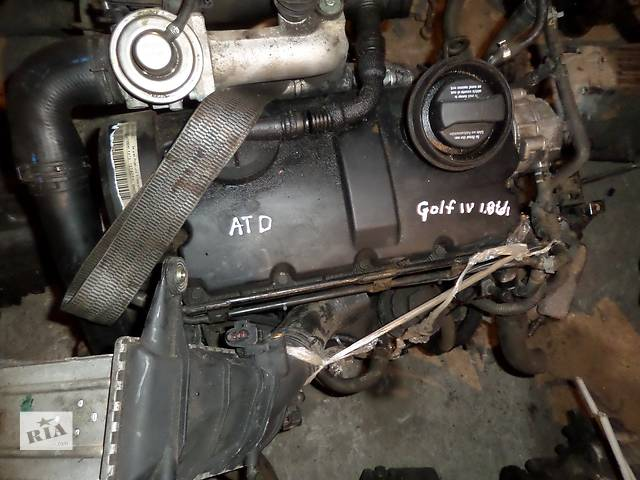 купить бу Б/у Двигатель Audi A3 1.9 tdi № ATD 2000-2003 в Стрые