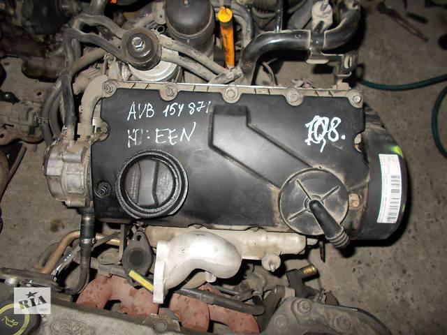 продам Б/у Двигатель Audi A4 1.9 tdi № AVB 2001-2005 бу в Стрые