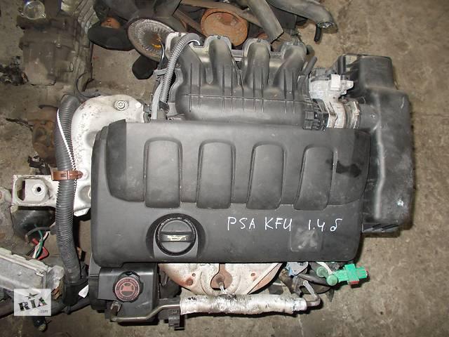 купить бу Б/у Двигатель Citroen C4 1,4 бензин 16V № PSA KFU в Стрые