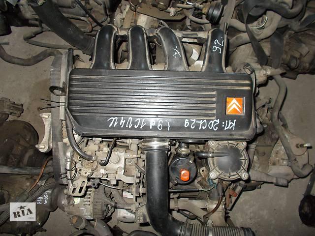 Б/у Двигатель Citroen ZX 1,9d № D9B 1993-1997- объявление о продаже  в Стрые