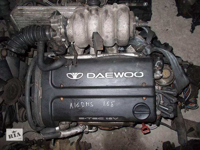 продам Б/у Двигатель Daewoo Nubira 1.6 бензин 16V № A16DMS бу в Стрые