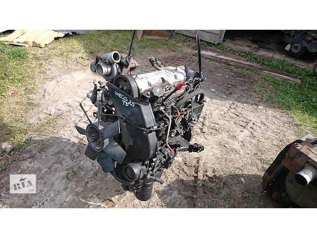 продам Б/у двигатель для грузовика Iveco Daily 2.5Турбо дизель 2.5простий бу в Львове