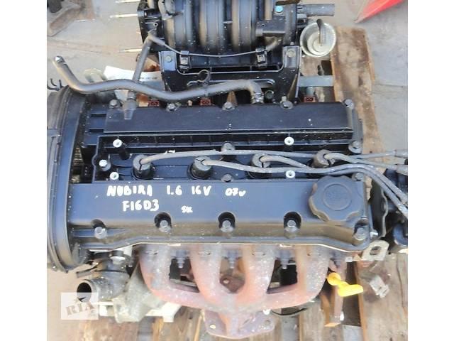 продам Б/у двигатель для легкового авто Chevrolet Lacetti 1.6i 80t.km бу в Львове