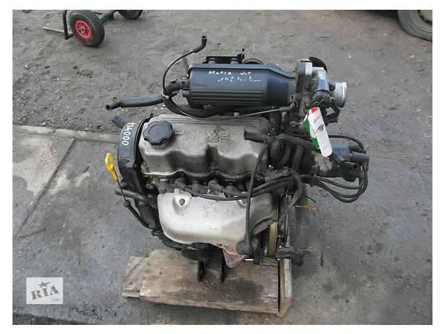 купить бу Б/у двигатель для легкового авто Daewoo Matiz 0.8 в Ужгороде