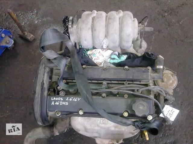 бу Б/у двигатель для легкового авто Daewoo Nubira 1.6i 123t.km в Львове