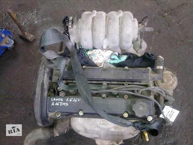 купить бу Б/у двигатель для легкового авто Daewoo Nubira 1.6i 123t.km в Львове