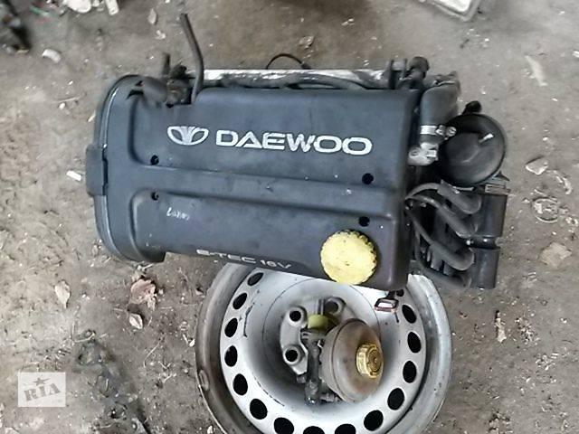 Б/у двигатель для легкового авто Daewoo Nubira 2002- объявление о продаже  в Бучаче