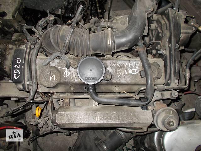 продам Б/у Двигатель Nissan Primera 2,0td № CD20T 1996-2002 бу в Стрые