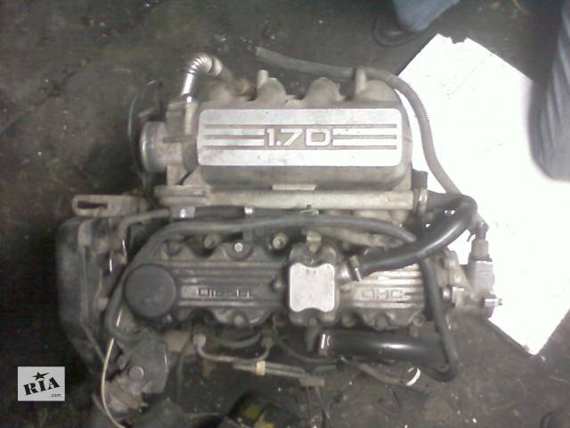 продам Б/у двигатель для легкового авто Opel Astra F 1,7Д бу в Луцке