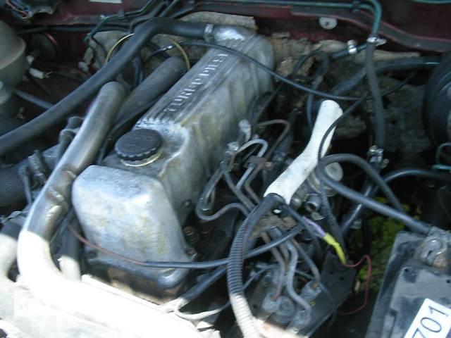 купить бу Б/у двигатель для легкового авто Opel Omega A 2,3Д в Луцке