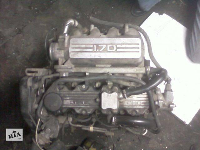 продам Б/у двигатель для легкового авто Opel Vectra A1.7D бу в Луцке