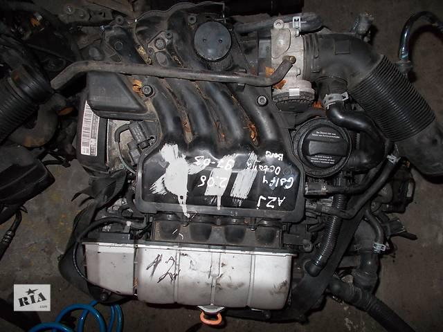 бу Б/у Двигатель Skoda Octavia 2,0 бензин 8V № AZJ в Стрые