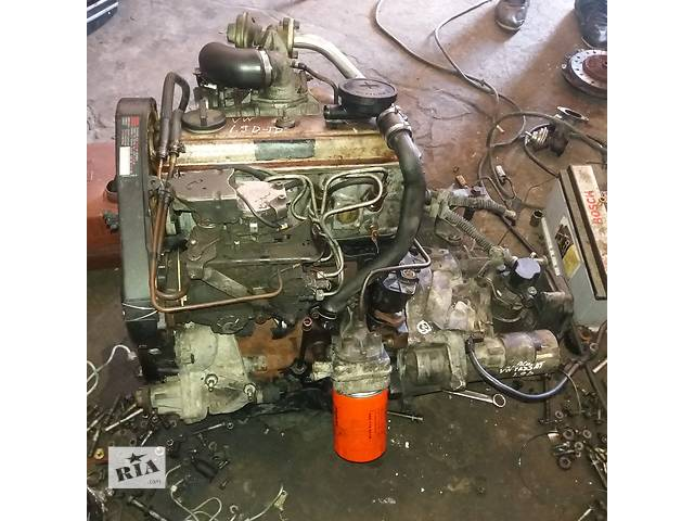 Б/у двигатель для легкового авто Volkswagen 1.9 TD- объявление о продаже  в Ковеле