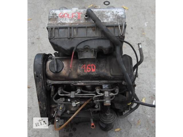 купить бу Б/у двигатель для легкового авто Volkswagen Golf II 1,6д в Луцке