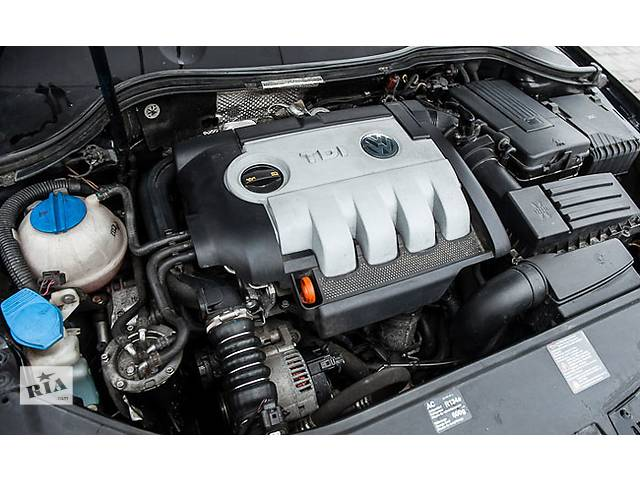 купить бу Б/у двигатель для легкового авто Volkswagen Passat B6 FSI, TSI, TDI,  TFSI в Костополе