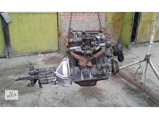 купить бу Б/у двигатель для седана ГАЗ 31029 первой комплектации с коробкой под газ-бензин в Ракитном (Киевской обл.)