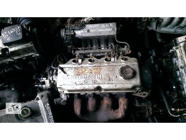 Б/у двигатель для седана Mitsubishi Galant 2.0 л. 16v- объявление о продаже  в Житомире