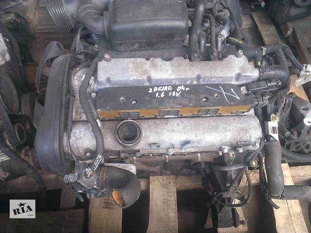 купить бу Б/у Двигатель двигатель мотор для Opel Zafira Опель Зафира бензин 1,6 2003 в Рожище